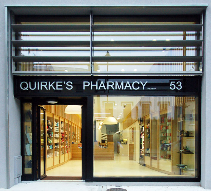 Quirke's Pharmacy entrance