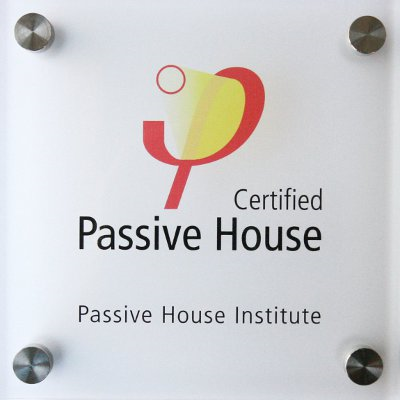 PassivHaus Certificate for Pharmacy