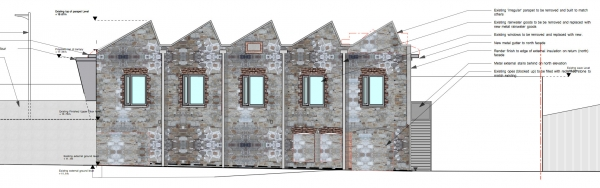 Office development in Co. Cork for passive house architecture company