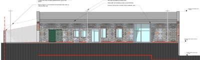 Cork Architecture practice passive office design south elevation